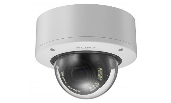 Sieciowa minikamera kopułkowa 4K marki SONY SNC-VM772R