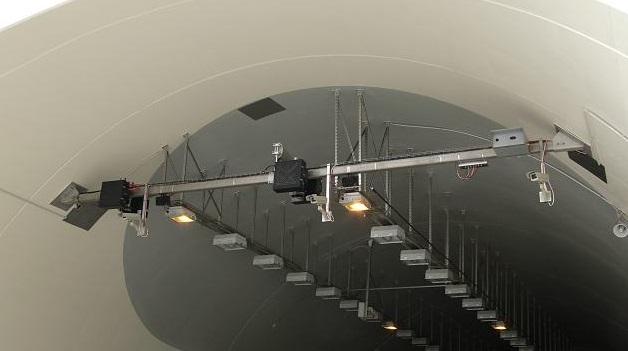 Eneo w tunelu