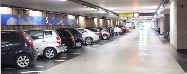 Monitoring Eneo na parkingu wielopoziomowym
